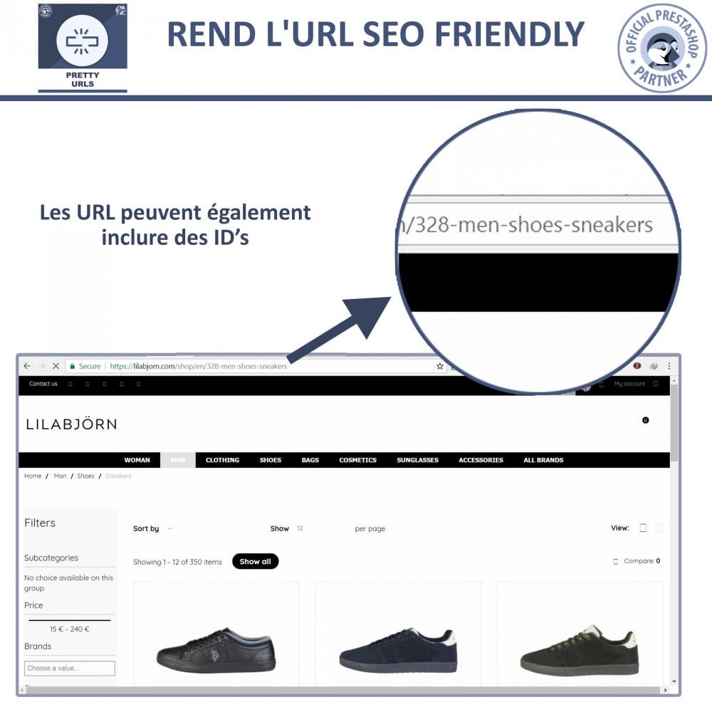 module - URL & Redirections - Pretty URLs  - Supprimez les ID et les numéros de l'URL - 4