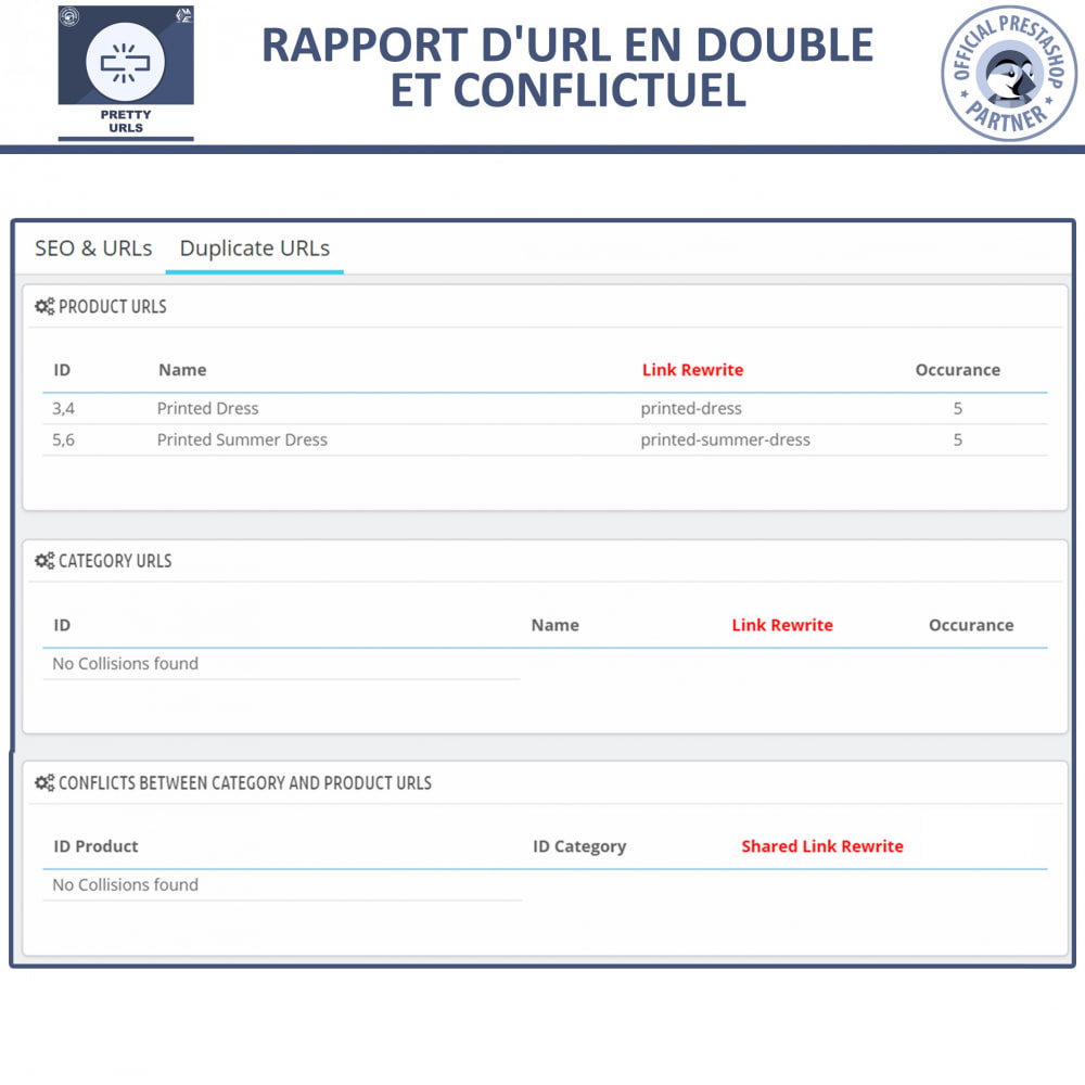 module - URL & Redirections - Pretty URLs  - Supprimez les ID et les numéros de l'URL - 9