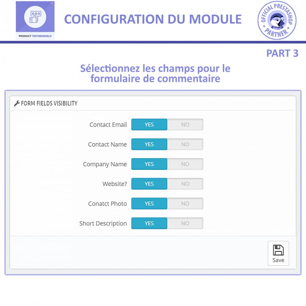 module - Avis clients - Revues de Produits + Témoignages de Magasins - 10