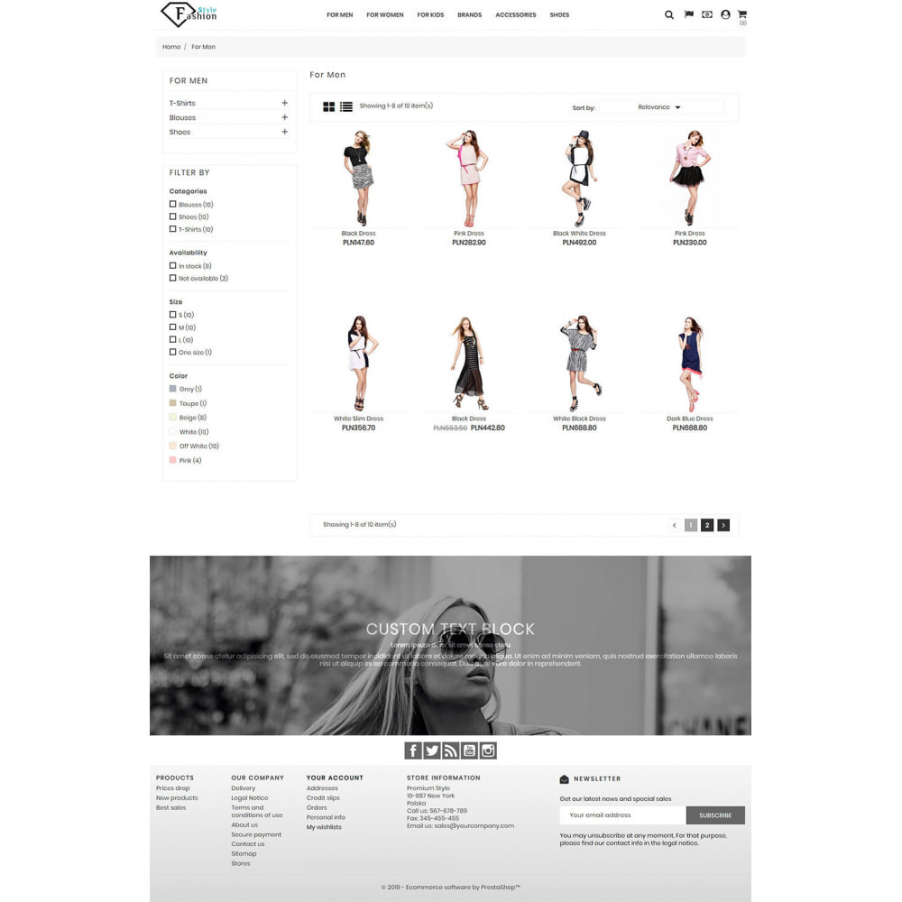 theme - Moda & Obuwie - Fashion Style - 5