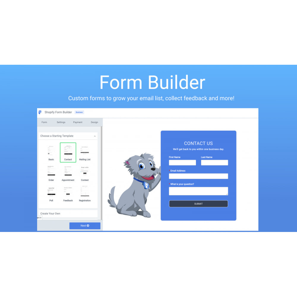 module - Contact Forms & Surveys - POWr Form Builder - 1