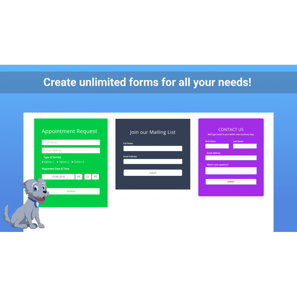 module - Contact Forms & Surveys - POWr Form Builder - 3