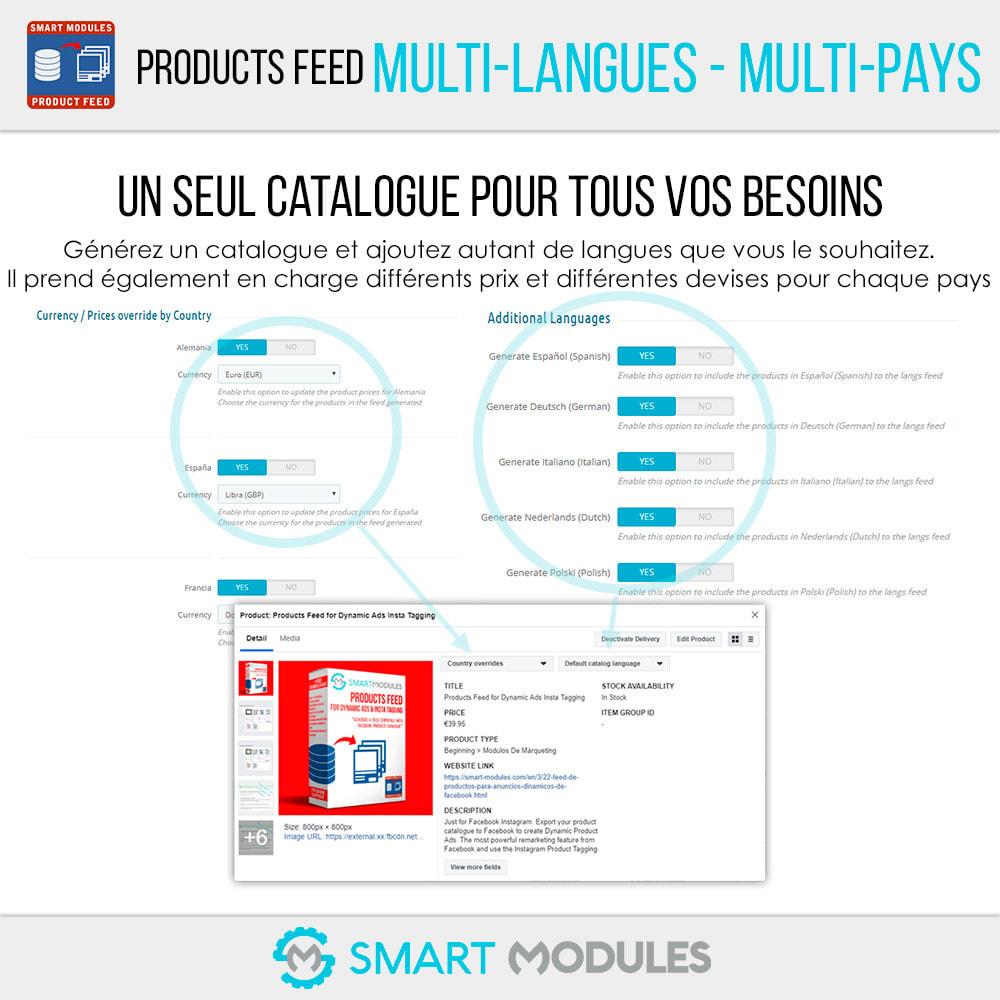 module - Référencement payant (SEA SEM) & Affiliation - Flux de Produits: Ad Dynamiques & Tags & Boutique - 3