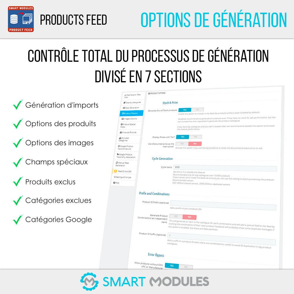 module - Référencement payant (SEA SEM) & Affiliation - Flux de Produits: Ad Dynamiques & Tags & Boutique - 4