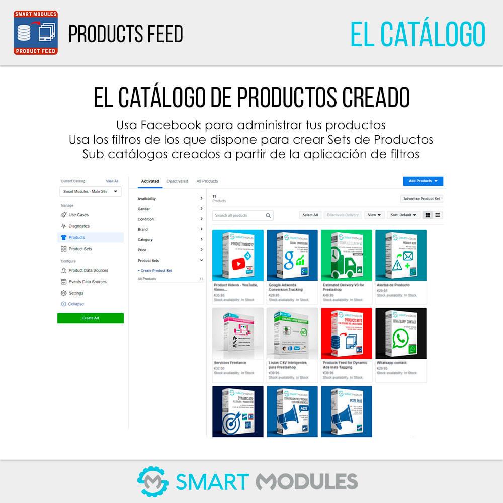 module - SEM SEA - Posicionamiento patrocinado & Afiliación - Feed de Productos: Anuncios Dinámicos & Tags & Tienda - 7