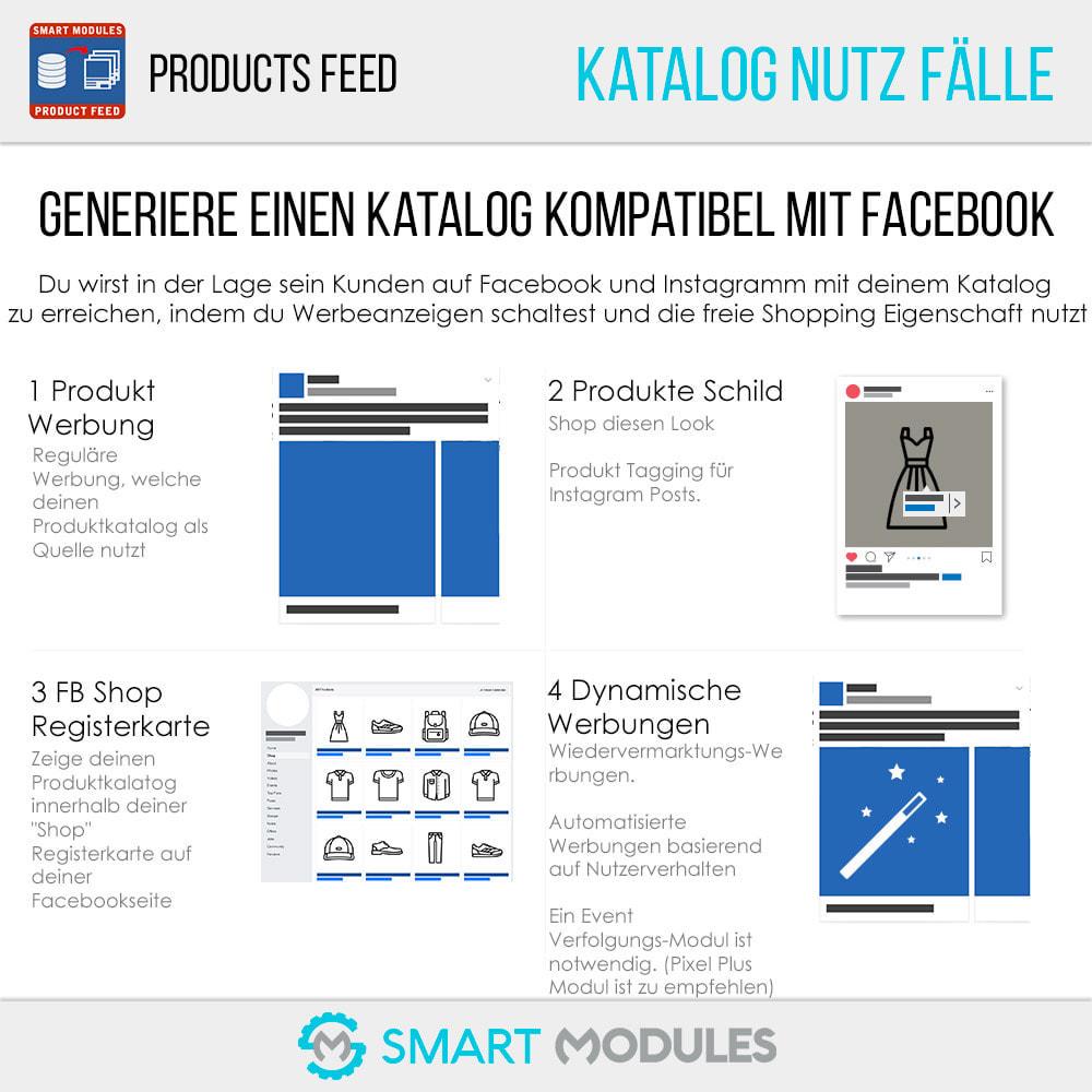 module - SEA SEM (Bezahlte Werbung) & Affiliate Plattformen - Produkte Feed für dynamische Werbungen & Tag & Shop - 2