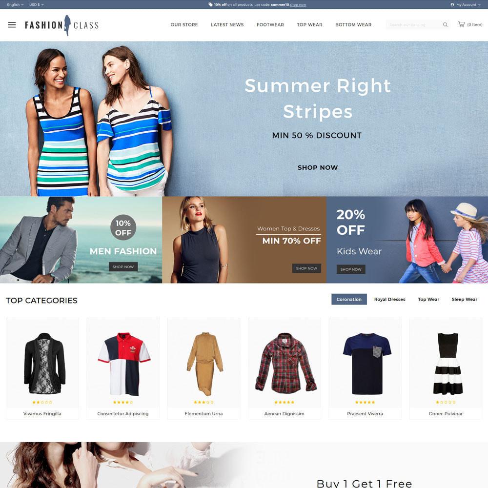 theme - Fashion & Shoes - Fashionclass - The fashion store - 3