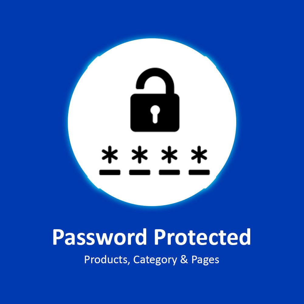 module - Безопасности и доступа - Password Protected Products, Category & Pages - 1