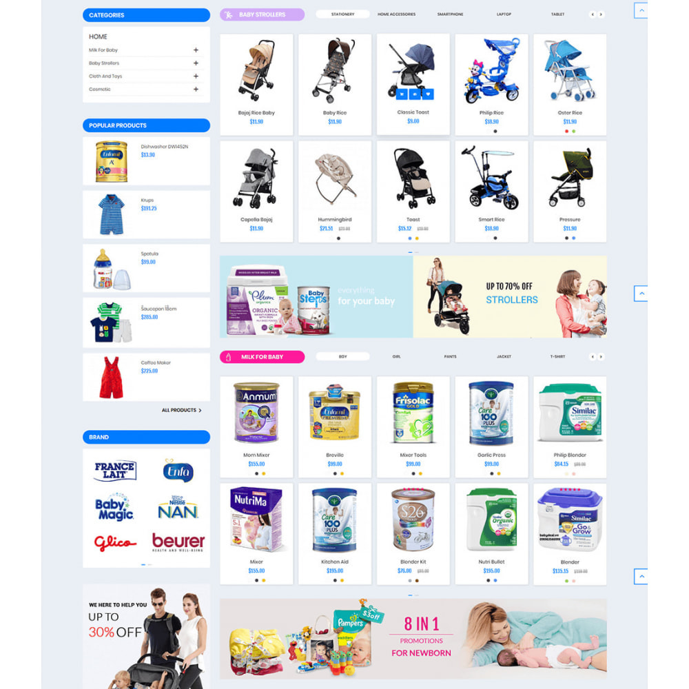 theme - Kids & Toys - Baby Kids and Toys - 3