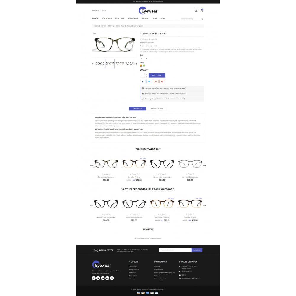 theme - Jewelry & Accessories - Eyewear - Glasses Store - 5