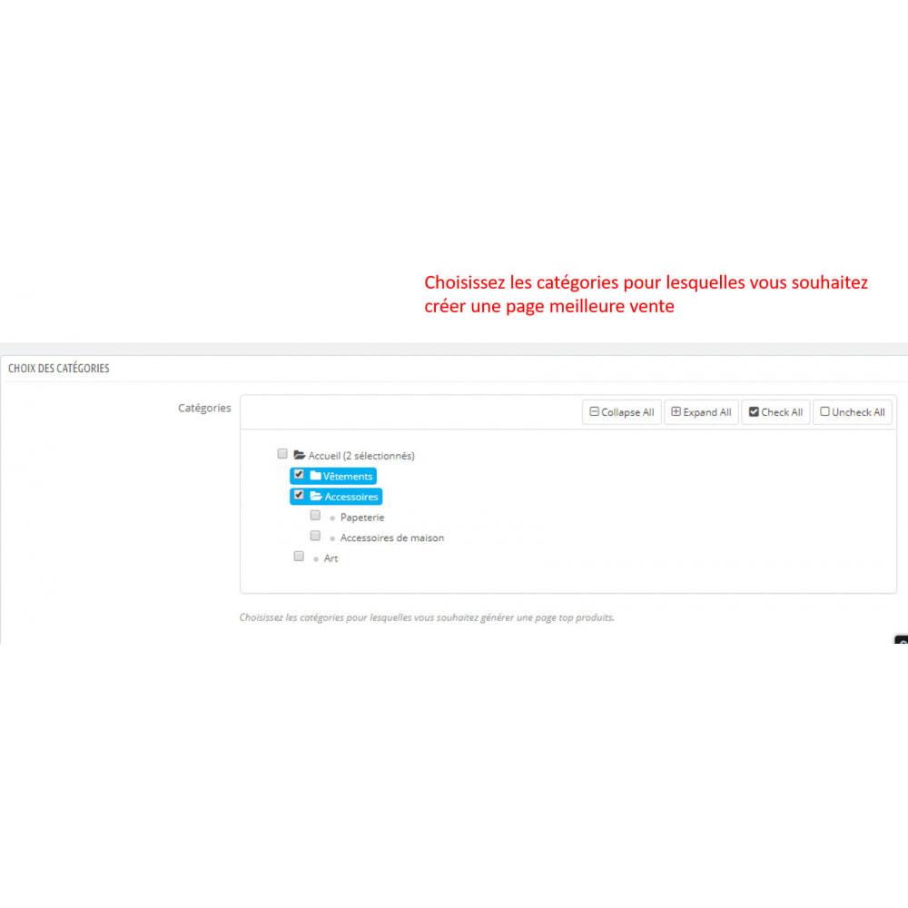 module - SEO (référencement naturel) - SEO pages meilleures ventes - 3