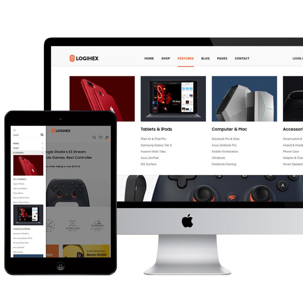 theme - Electronics & Computers - Logihex Digital Store - 1