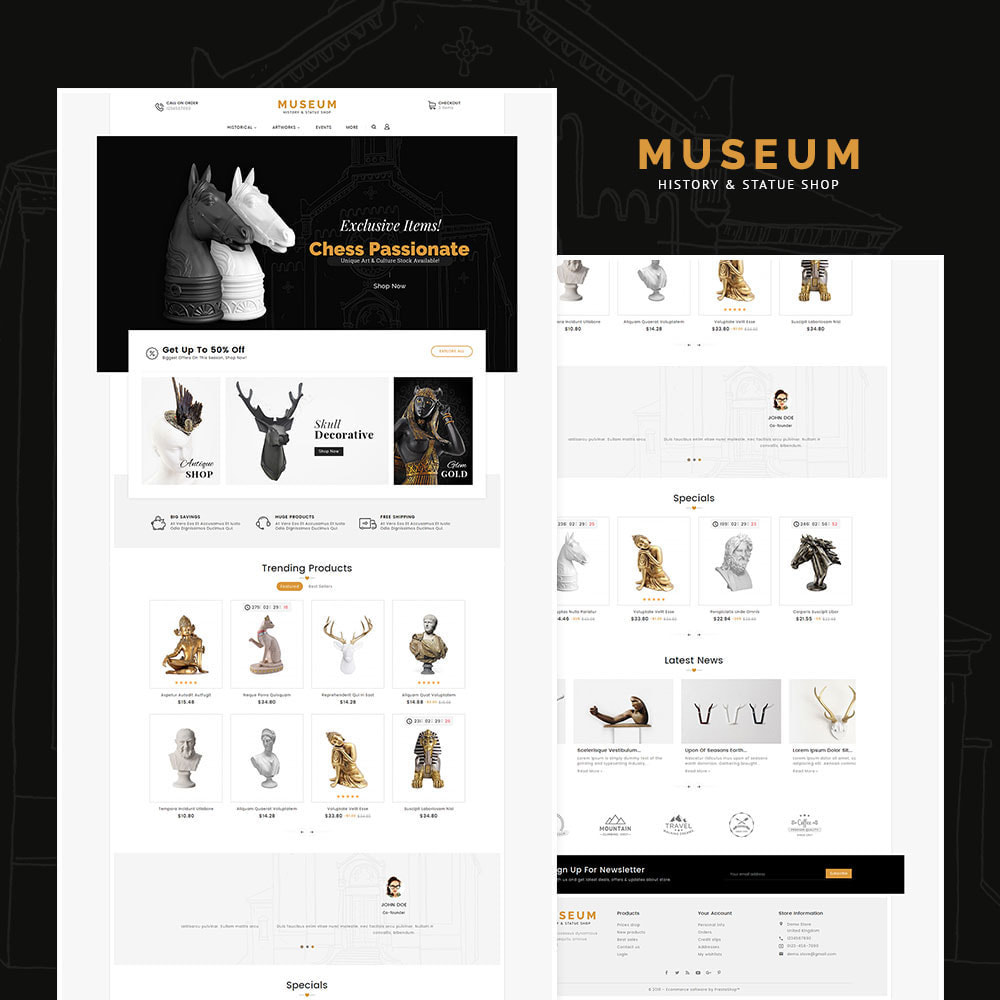 theme - Art & Culture - Museum & Antique Statue - 2