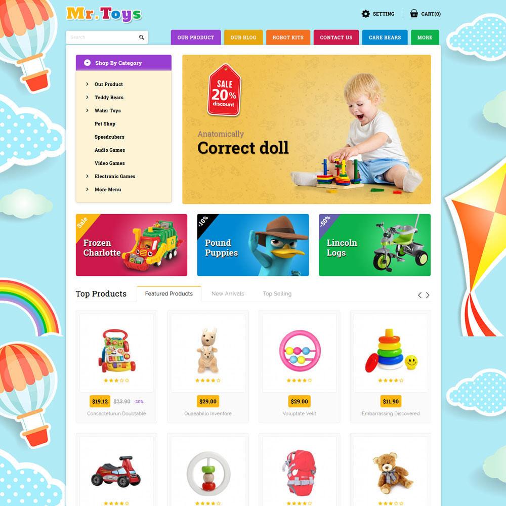 theme - Niños y Juguetes - Mr Toys - La tienda de juguetes - 3