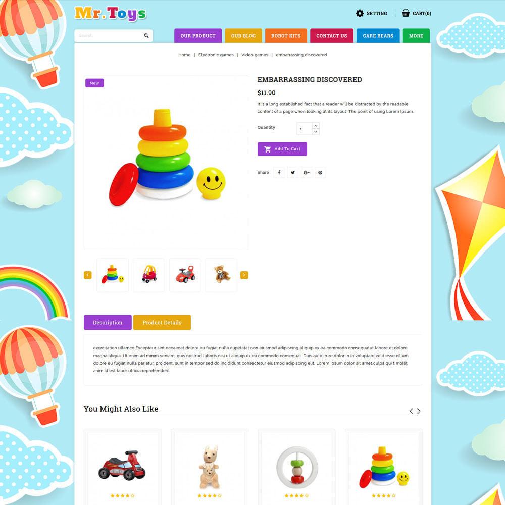 theme - Niños y Juguetes - Mr Toys - La tienda de juguetes - 6