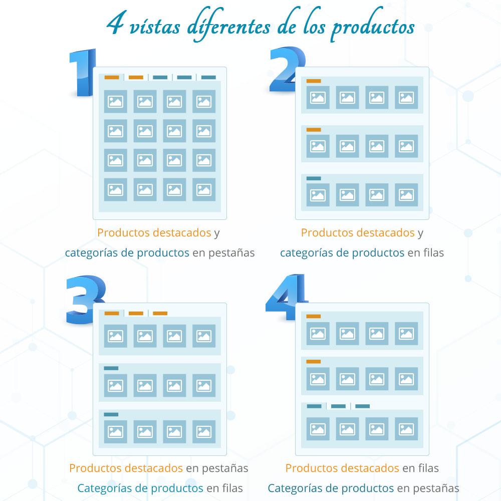 module - Productos en la página de inicio - Home Products PRO-Lista de producto personalizable - 2