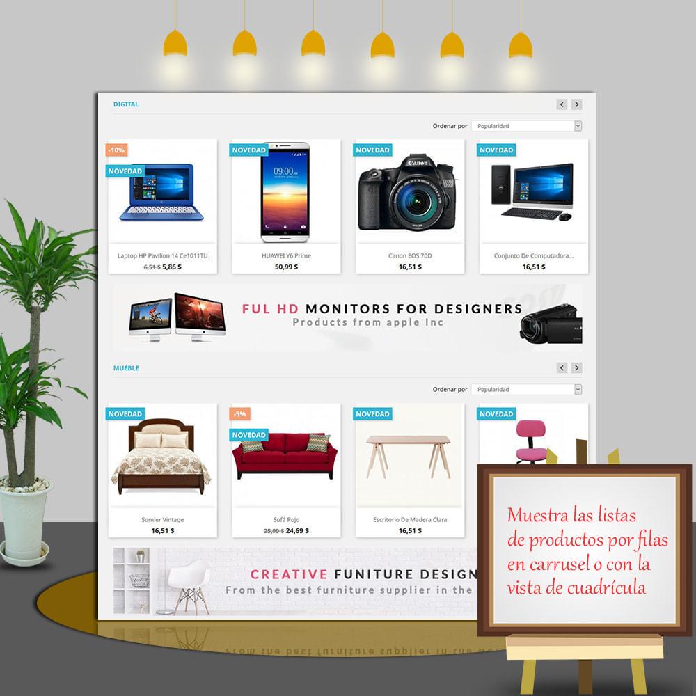 module - Productos en la página de inicio - Home Products PRO-Lista de producto personalizable - 4