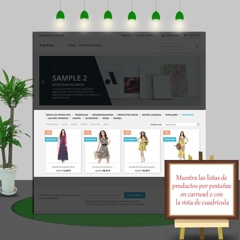 module - Productos en la página de inicio - Home Products PRO-Lista de producto personalizable - 5