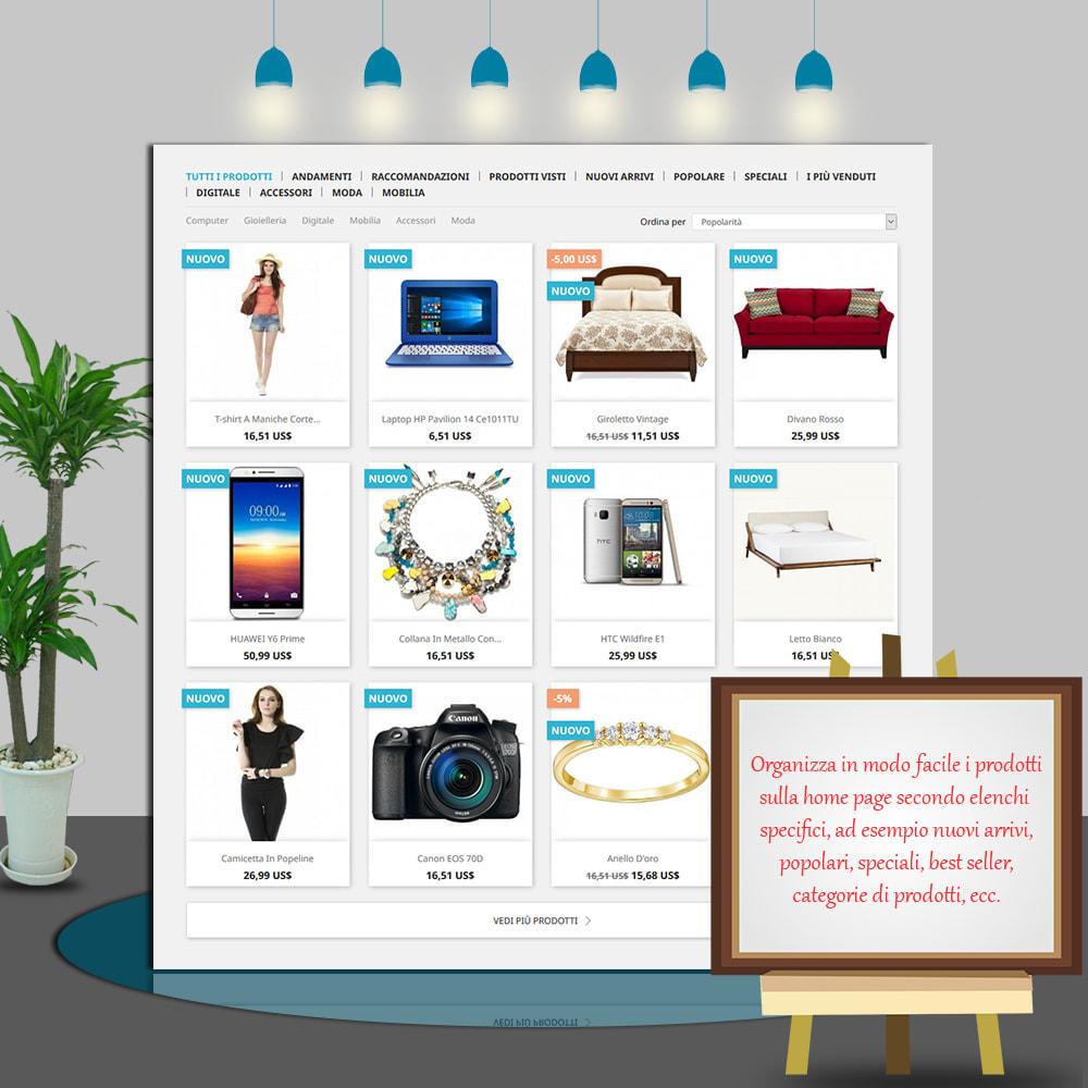 module - Prodotti su Home - Home Products PRO - Lista prodotti personalizzabili - 3