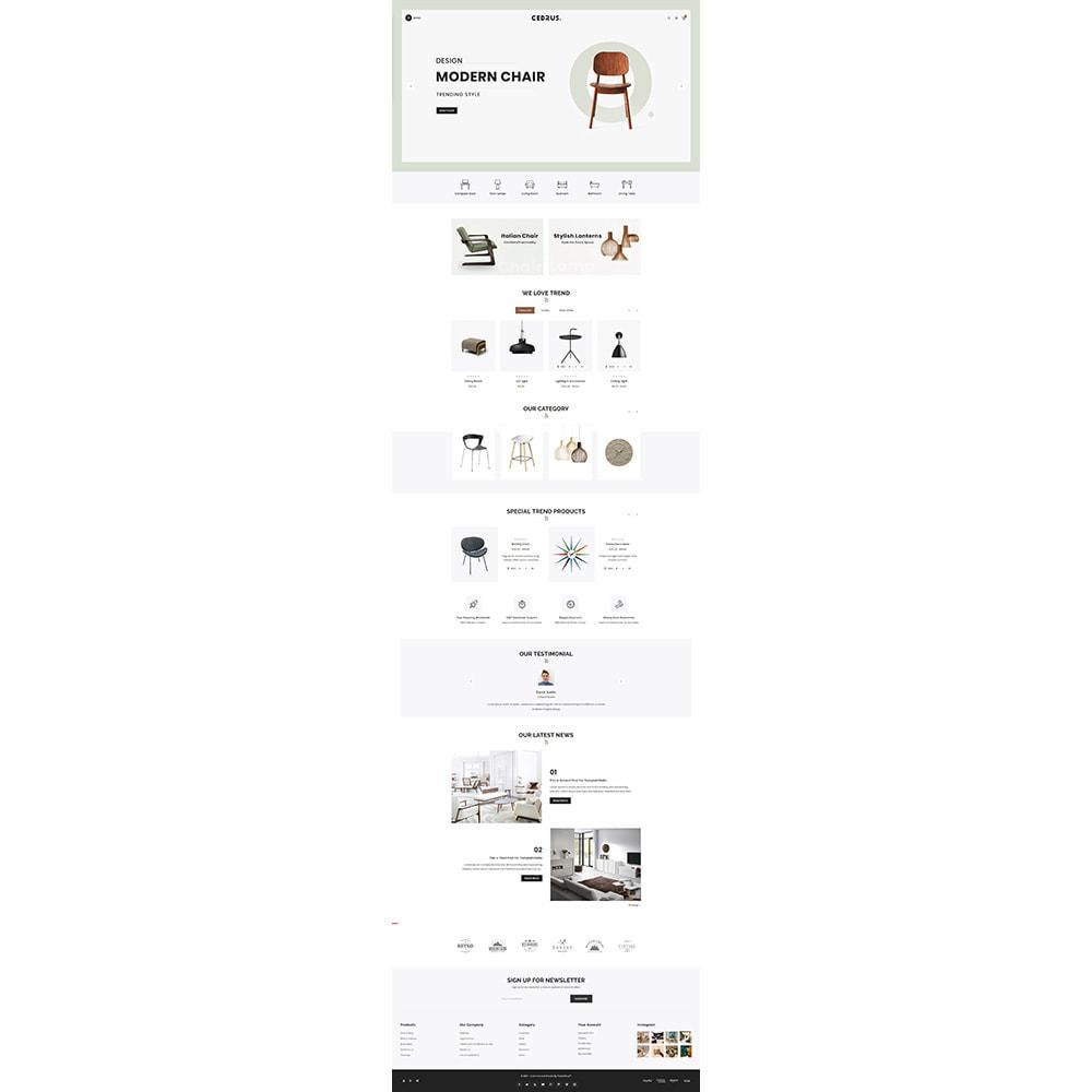 theme - Дом и сад - Digital Furniture- Cedrus Furniture Store - 2