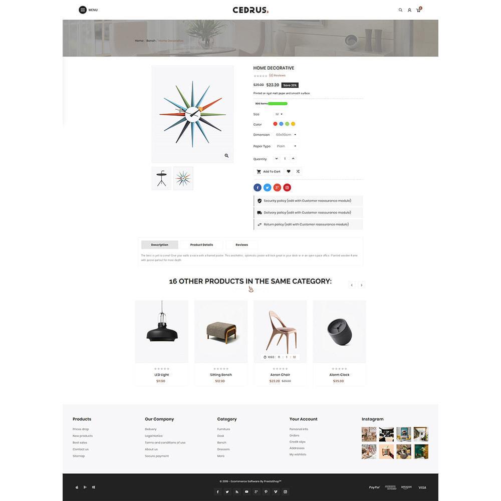 theme - Дом и сад - Digital Furniture- Cedrus Furniture Store - 4