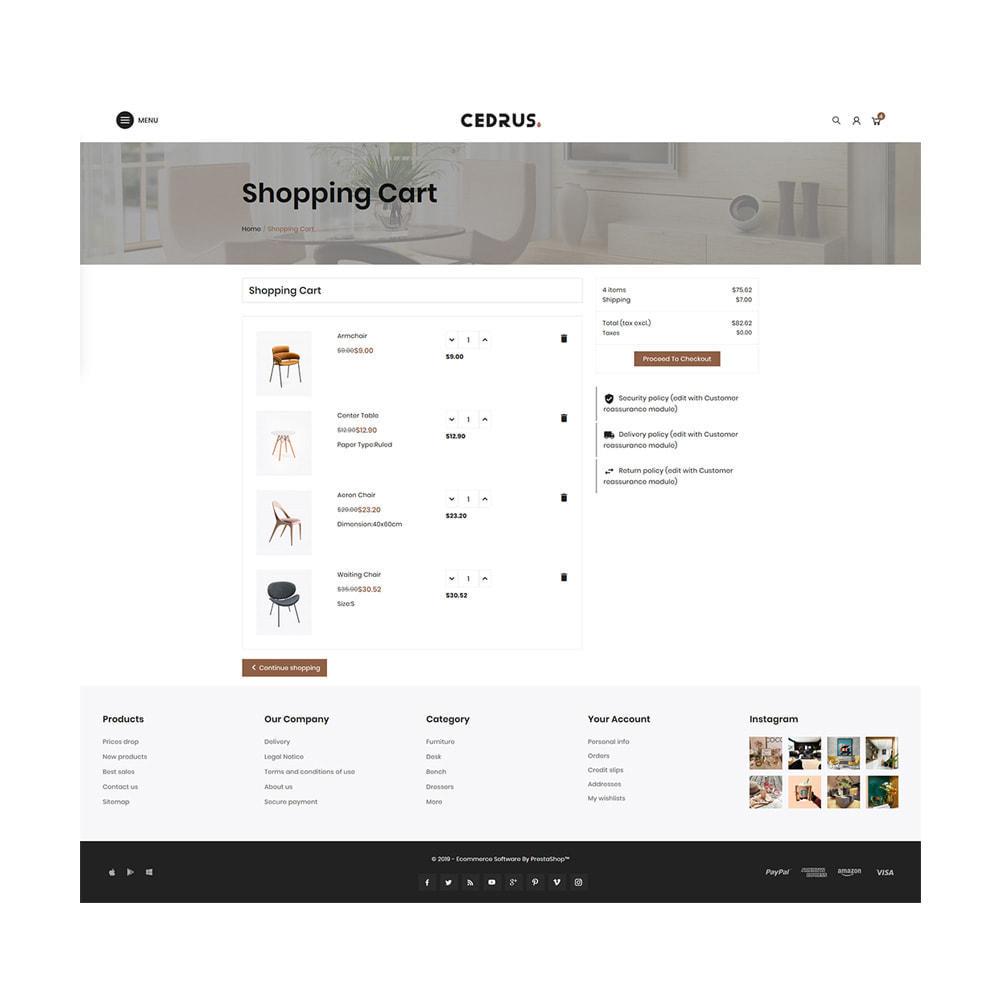 theme - Hogar y Jardín - Digital Furniture- Cedrus Furniture Store - 5