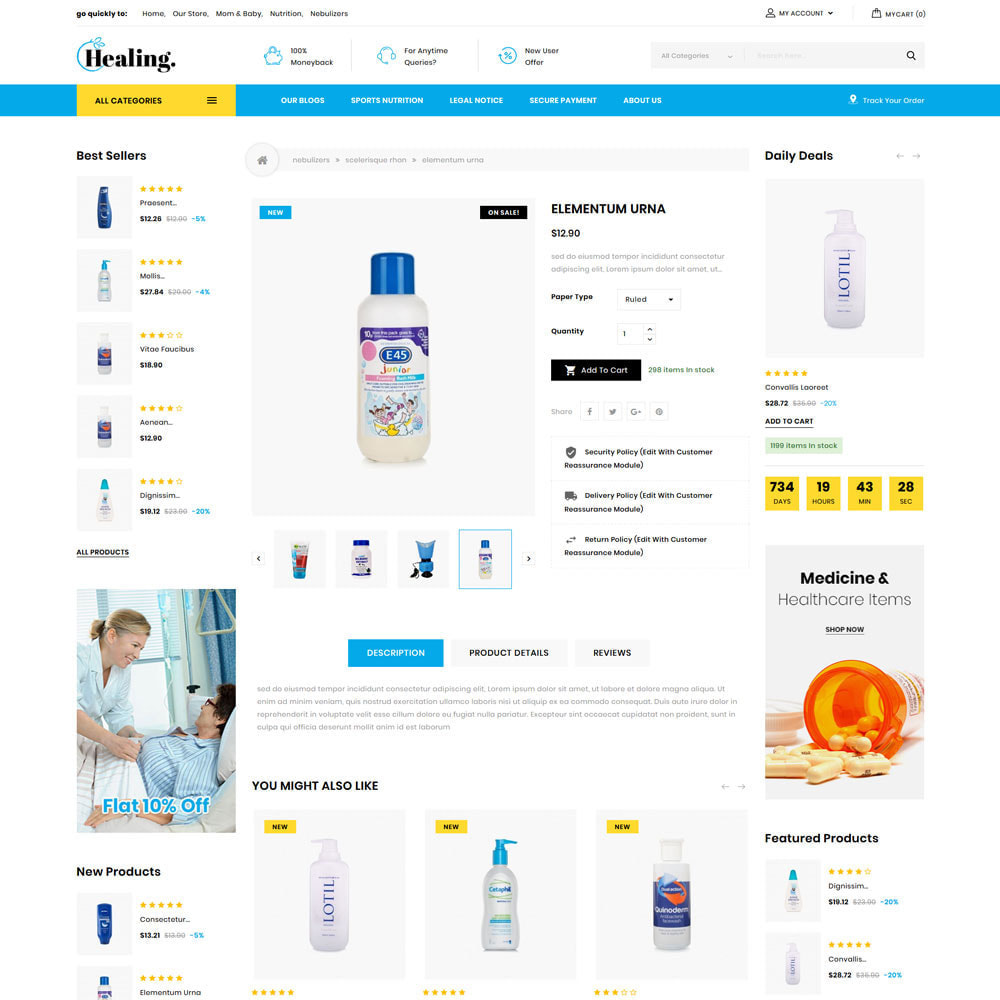 theme - Health & Beauty - Healing - The Drug Store - 6