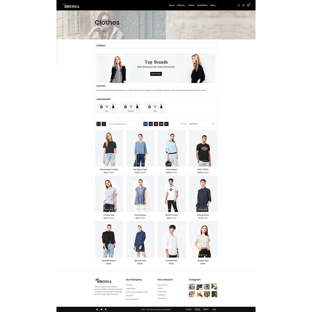 theme - Fashion & Shoes - Digital Fashon- Brosia Fashon Store - 3