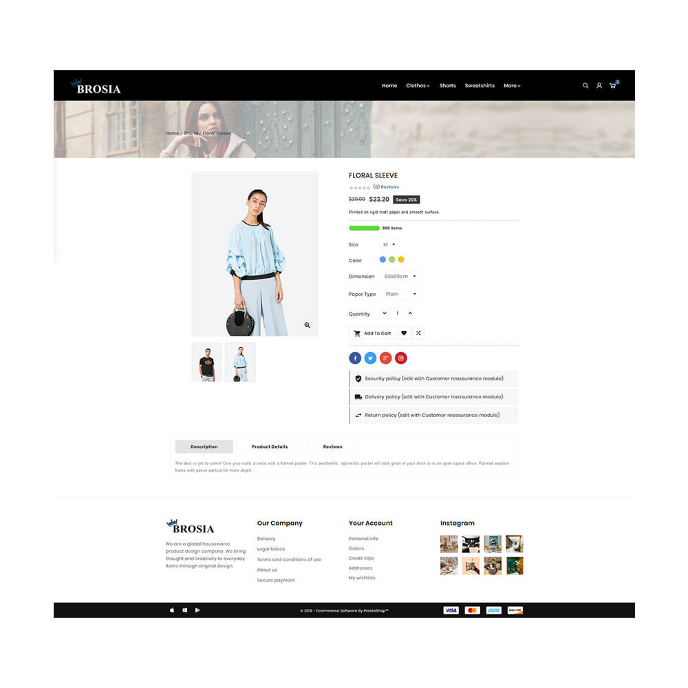 theme - Fashion & Shoes - Digital Fashon- Brosia Fashon Store - 4