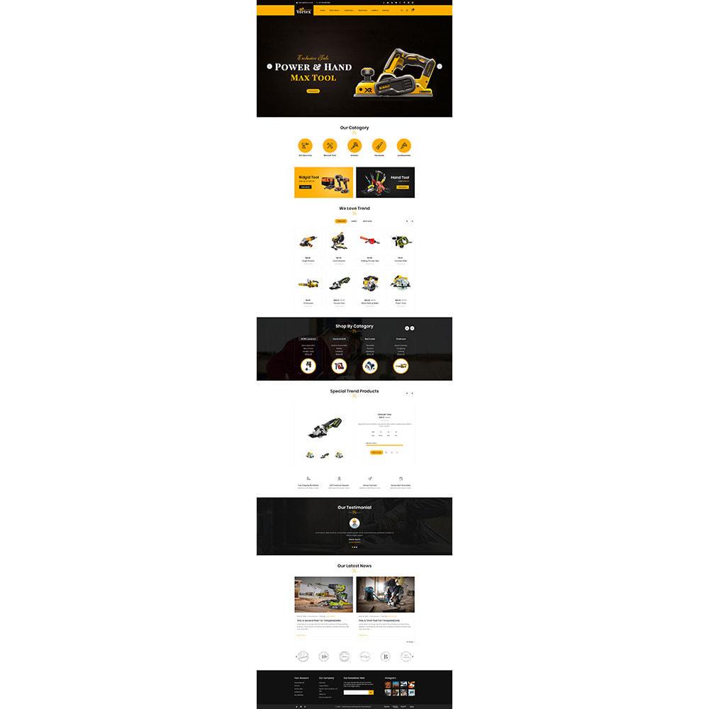 theme - Automotive & Cars - Tool Vortex - Toolen Store - 2
