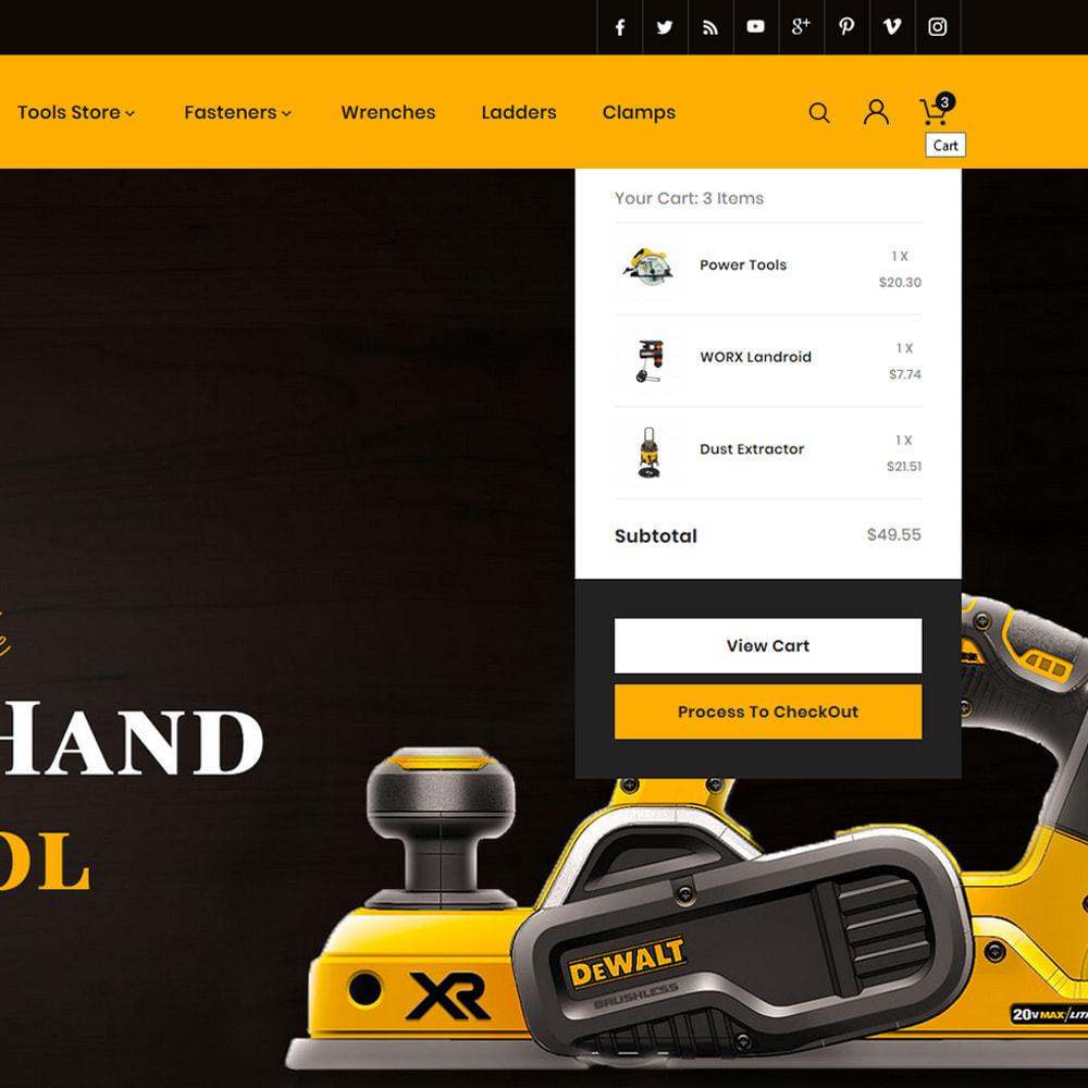 theme - Automotive & Cars - Tool Vortex - Toolen Store - 7