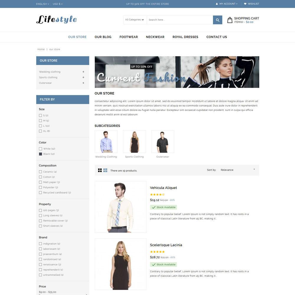 theme - Moda y Calzado - Tienda de moda Lifestyle - 5