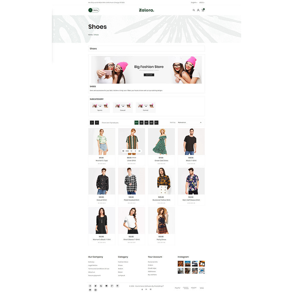 theme - Fashion & Shoes - Zalora Fashion Store - 3