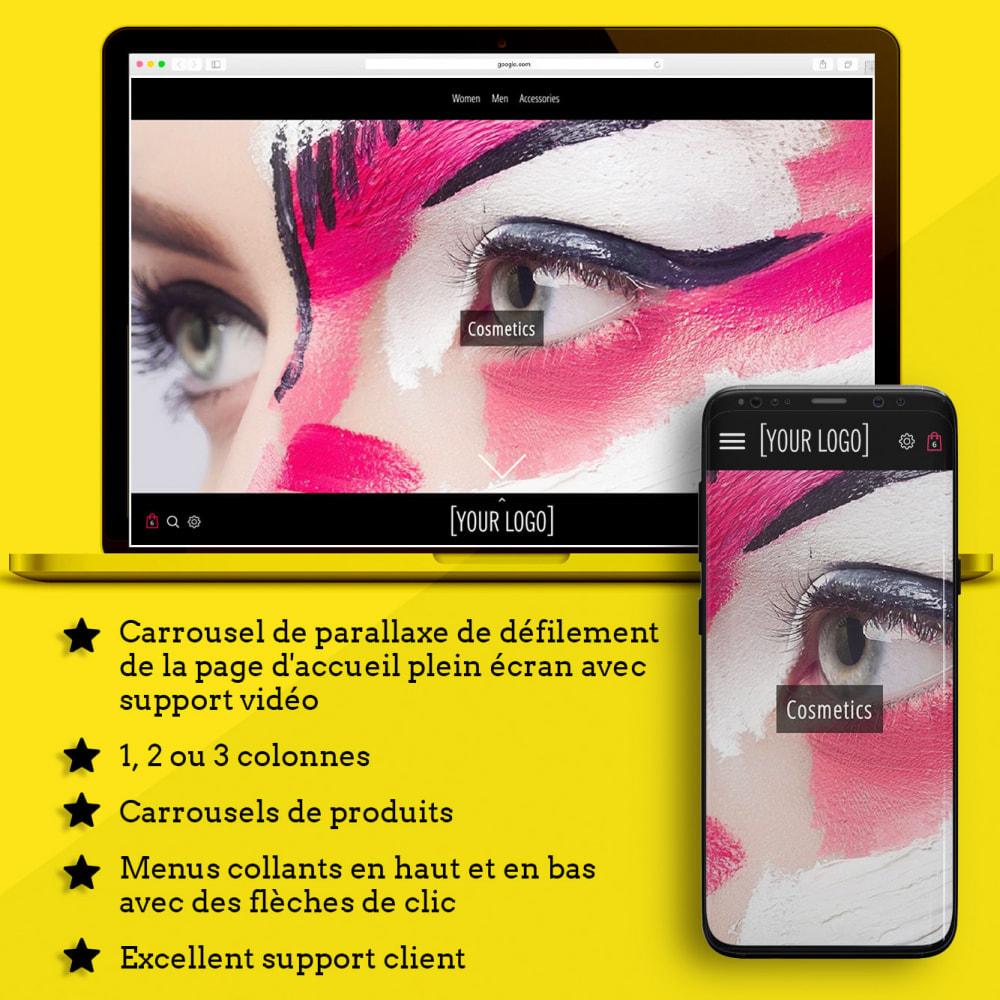 theme - Santé & Beauté - Swank Parallax Moderne - 1