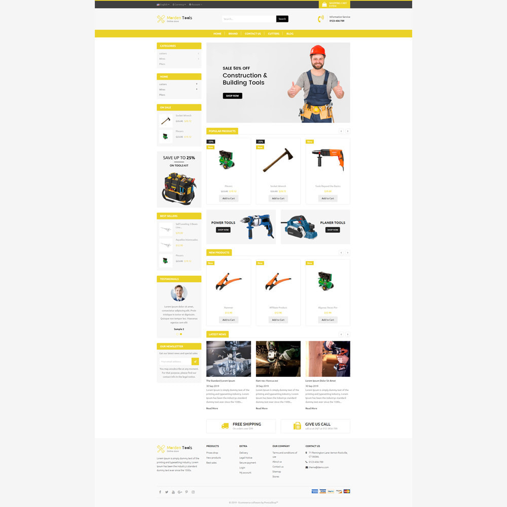 theme - Auto & Moto - Tool - Magasin réactif - 2