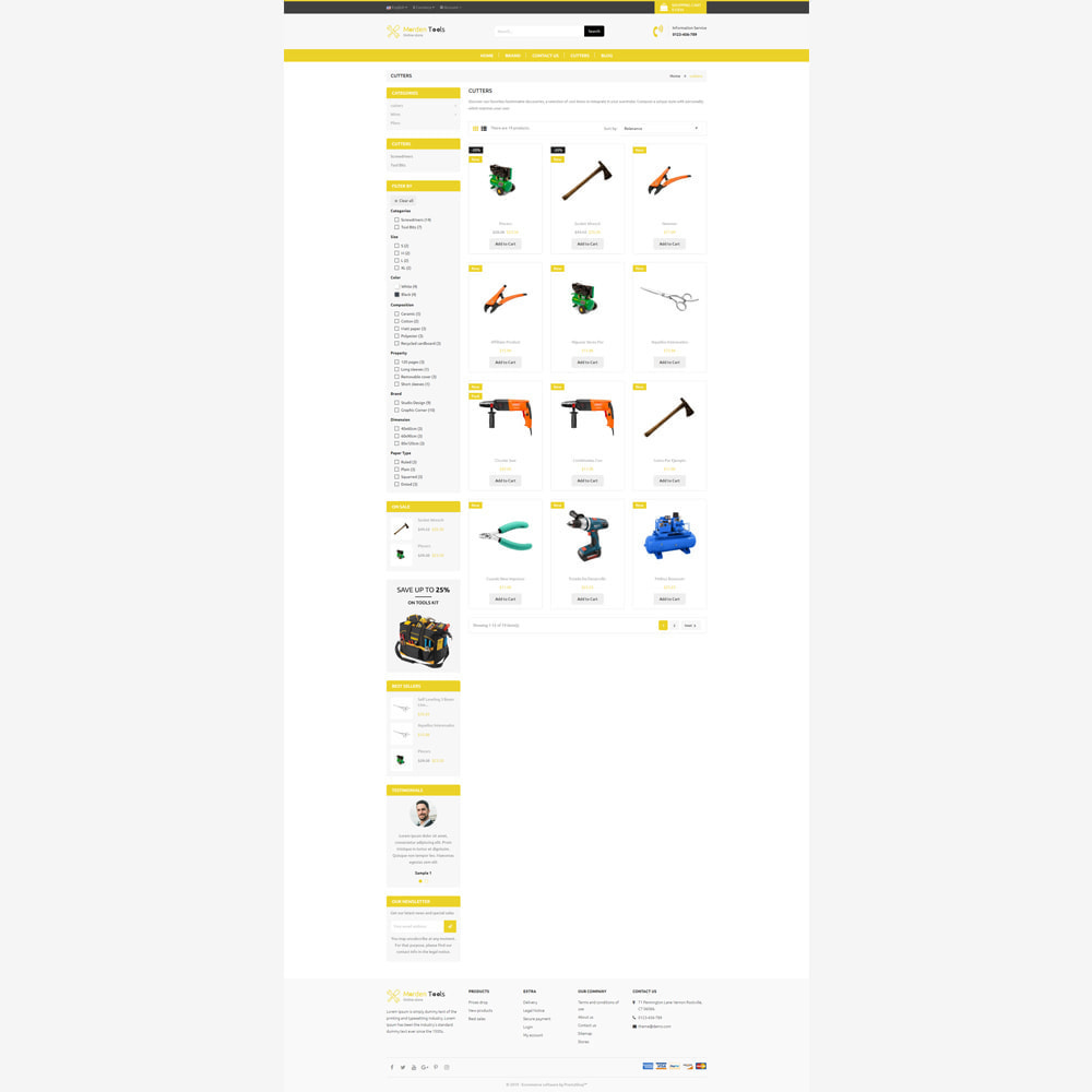 theme - Auto & Moto - Tool - Magasin réactif - 3