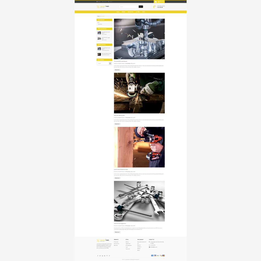 theme - Auto & Moto - Tool - Magasin réactif - 5