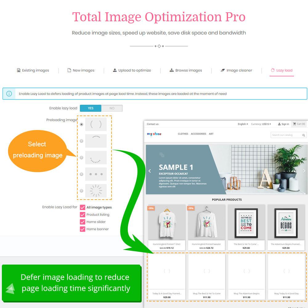 module - Wydajnośc strony - Total Image Optimization Pro - 10