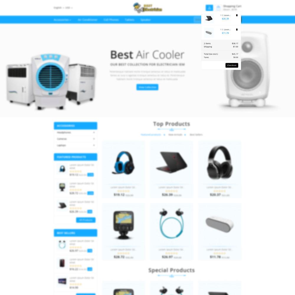theme - Electronics & Computers - Best Electrician- the Electronics shop - 7