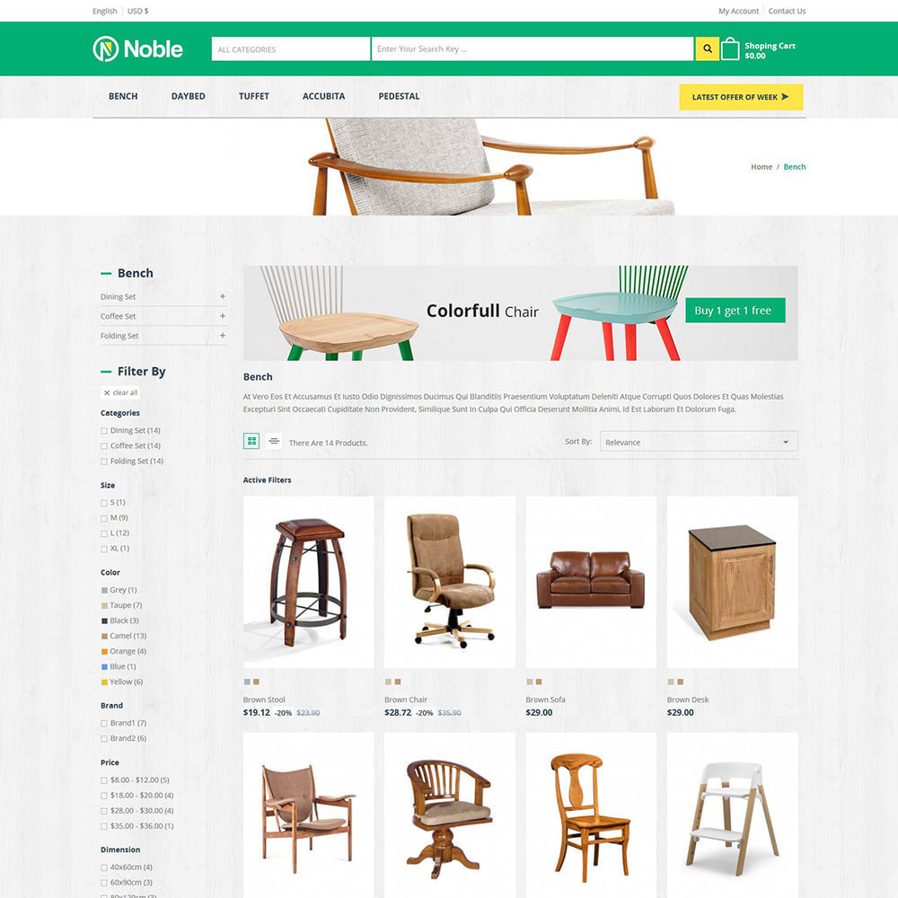 theme - Home & Garden - Interior Furniture  - Home Garden Megamart Store - 3