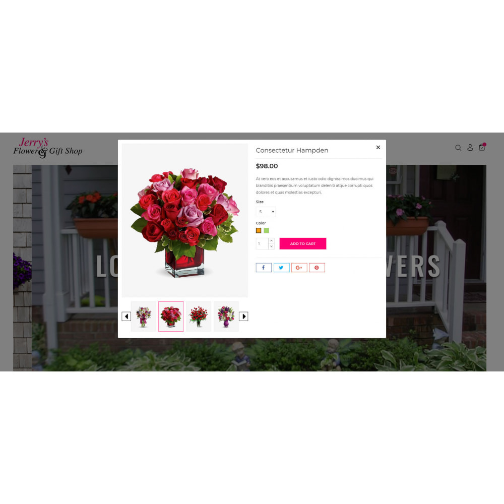 theme - Gifts, Flowers & Celebrations - Flower and Gift Shop - 7