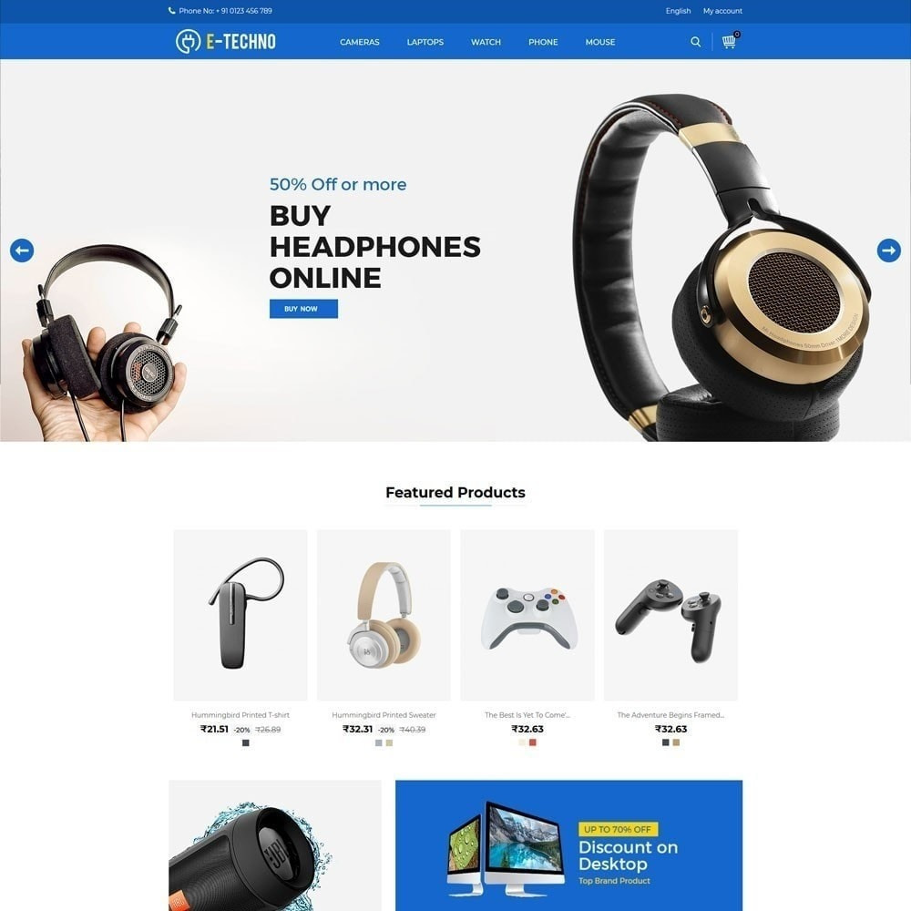 theme - Electronique & High Tech - Electronics Mobile - Smartphone Laptop Store - 2