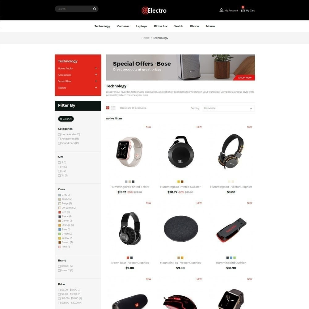 theme - Electronique & High Tech - Mobile Drone - Electronics Digital Store - 3