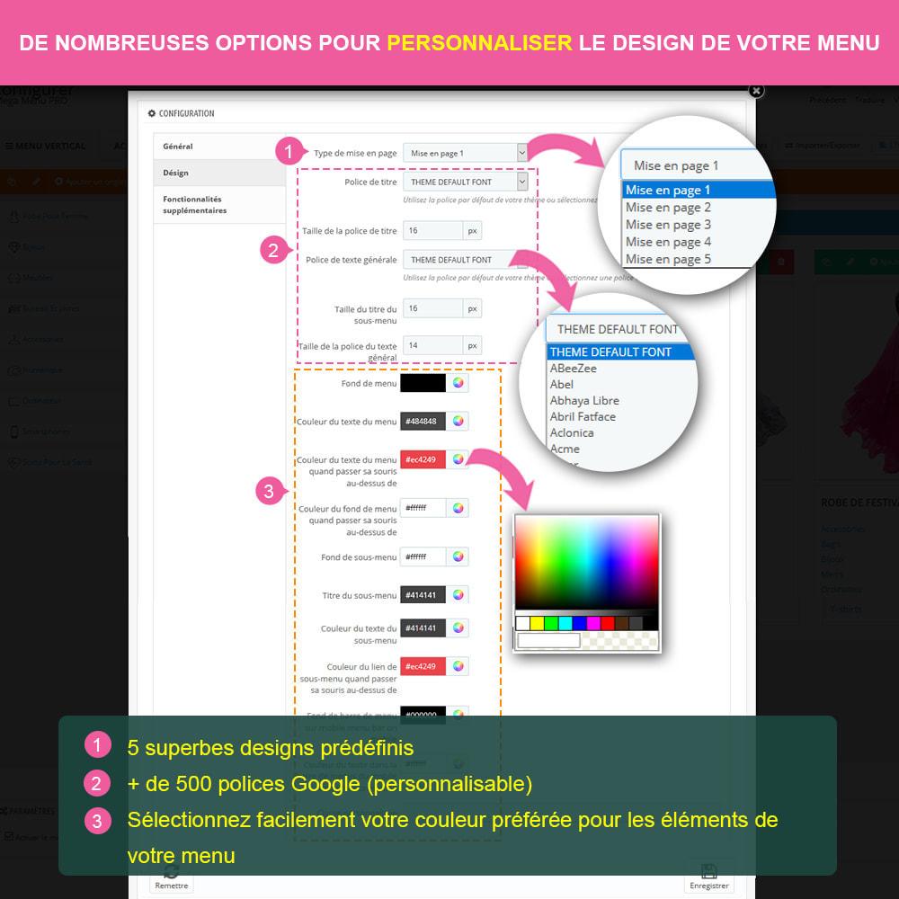 module - Menu - Mega Menu PRO – Drag & drop visuel - 12