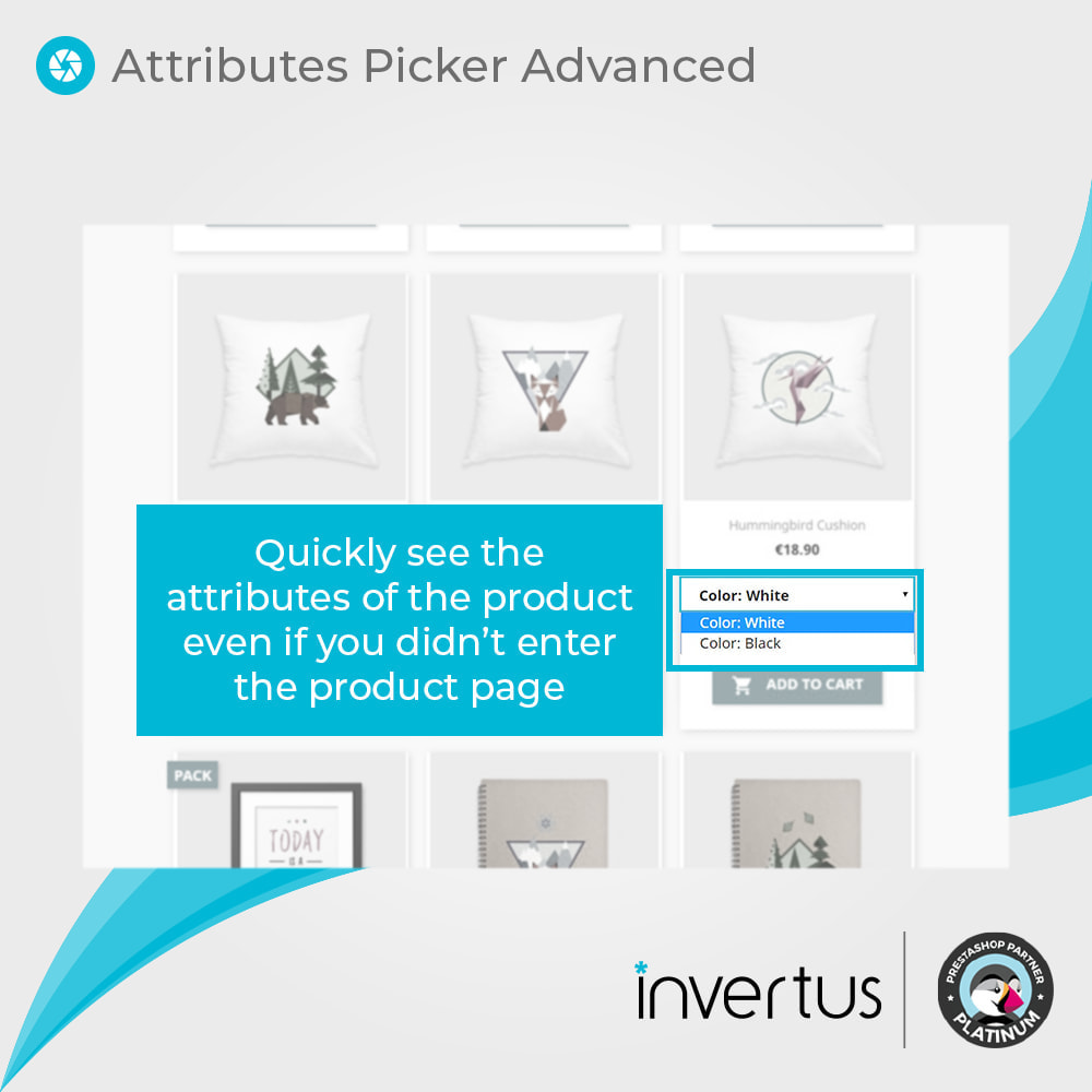 module - Combinaciones y Personalización de productos - Attributes Picker Advanced - 3