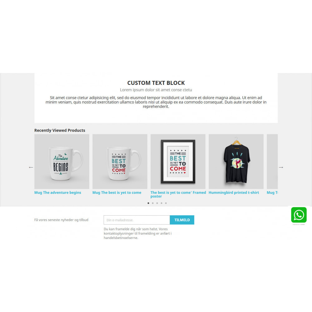 module - Cross-selling & Product Bundles - Recently Viewed Products - Carousel and Responsive - 7