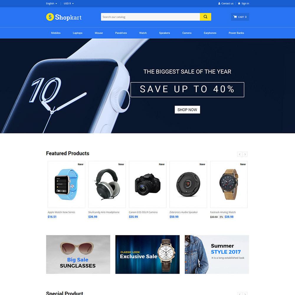 theme - Elettronica & High Tech - Shopkart Electronics - Negozio mobile digitale - 3