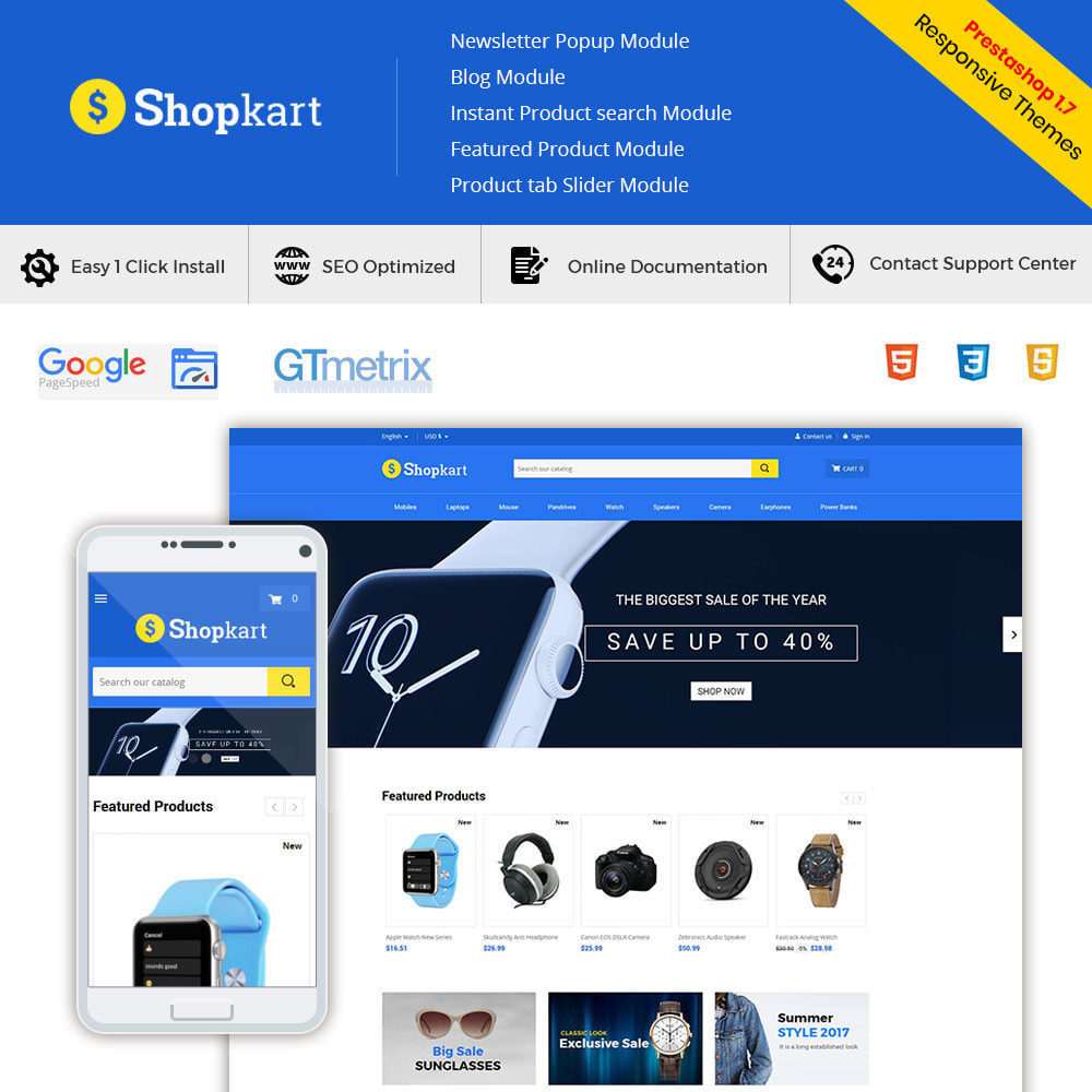 theme - Elektronica & High Tech - Shopkart Electronics - Digitale mobiele winkel - 2