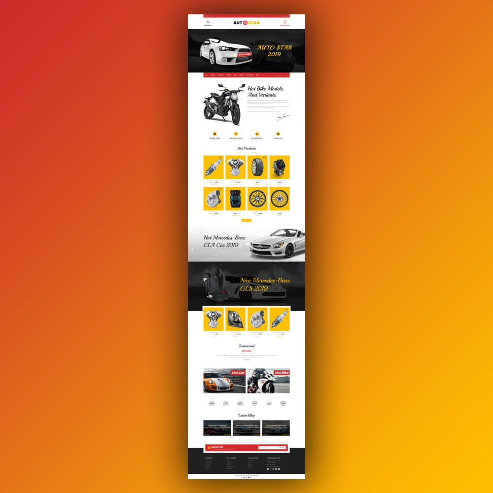 theme - Automotive & Cars - Autostar - autopart store - 2