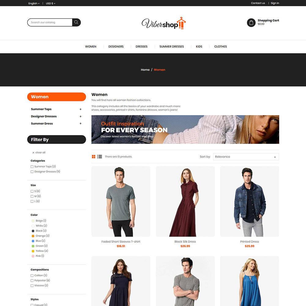 theme - Moda & Calzature - Abiti di moda - Negozio di accessori da donna - 3
